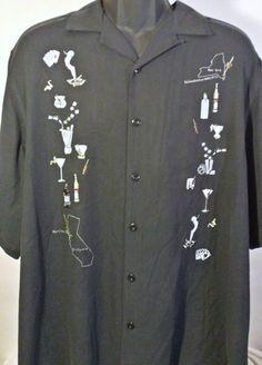 Nat Nast Limited Edition #265 Mens Size XL Casual Shirt #NatNast #ButtonFront