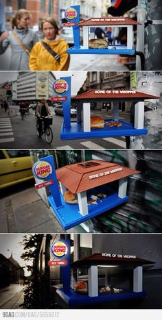 Burger King #Guerilla