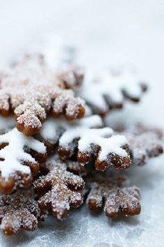 Печенье, пряники, зима, праздник, новый год