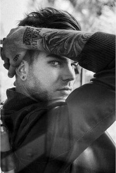 Adam Lambert in Attitude magazine. So hooooot!!!
