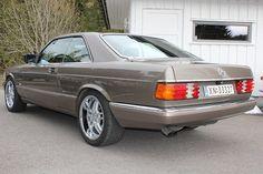 Mercedes-Benz S-Klasse 420 SEC meget pen!  1987, 292000 km, kr 89 530,-