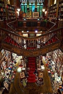 bookstore Lello & Irma, Porto, Portugal