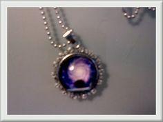 ♥♡♥ The Purple Cosmos Necklace ♥♡♥