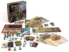 This is a beautiful game, one I have played several times and hope to play several more. It's a cooperative game with a couple of twists!