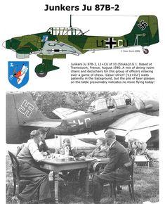 Junkers Ju 87B-2, 10. (Stuka)/LG1, France 1940