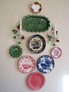 decorative plates collage beautiful wall decorating ideas - Decorative Plates For Wall