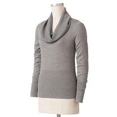 Apt. 9 Cowlneck Cashmere Sweater | My Style | Pinterest | Cashmere ...