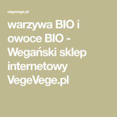 warzywa BIO i owoce BIO - Wegański sklep internetowy VegeVege.pl Math Equations