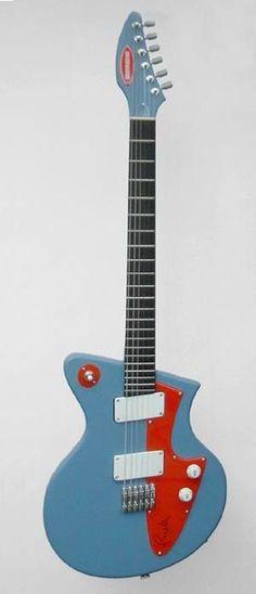 Pagelli Beatmaster Electric Guitar --- https://www.pinterest.com/lardyfatboy/
