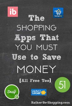 9 Shopping Apps That You MUST Start Using to Save Money - Finance tips, saving money, budgeting planner Best Money Saving Tips, Ways To Save Money, Money Tips, Make Money Online, Saving Money, Preparing For Retirement, Savings Planner, Financial Tips, Financial Literacy