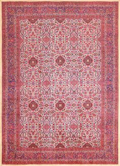 Click here to view this Magnificent Antique All Over Design Silk Kashan Persian Rug 49316 available for sale at Nazmiyal Antique Rug in NYC