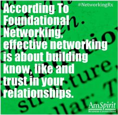 #NetworkingRx: How do you get people to like you?