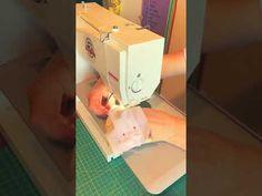 Tutorial mascherine per bambini fai da te #DIY #COVID19ITALIA - YouTube Videos, Make It Yourself, Sewing, Youtube, How To Make, Dressmaking, Couture, Stitching, Video Clip