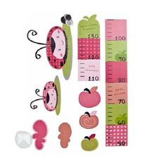 Ladybug Kids Growth Chart   http://www.greenanttoysonline.com.au/ladybug-growth-chart