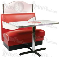 Image detail for -Coca Cola Furniture Diner Resataurant Kitchen Booths Tables Chairs Bar ...wonder if they're reasonable for window seat area in home as well?