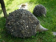 Stone hedgehog