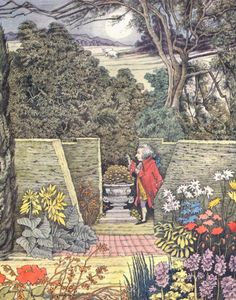 Mozart in the garden, by Maurice Sendak
