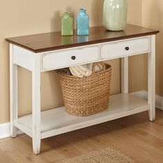 Simple Living Charleston Sofa Table - 17813508 - Overstock.com Shopping - Great Deals on Simple Living Coffee, Sofa & End Tables