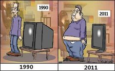 1990 Vs. 2011    LOL I just fell off my chair--I had to take a double take but that is really funny