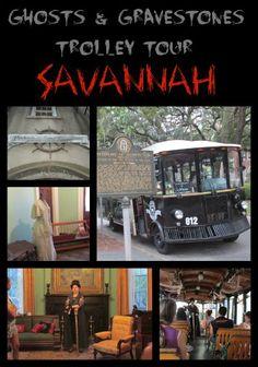 Savannah Ghosts & Gravestones Trolley Tour