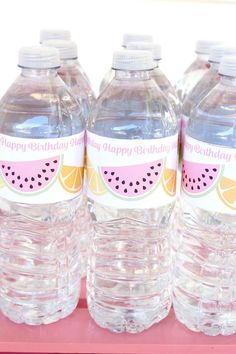 Water Bottles from a
