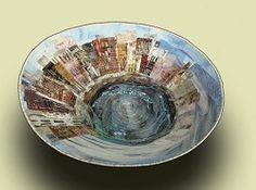 Bowl Art Class with Hilde Morin October 2015