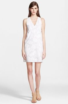 rag & bone 'Augusta' Fil Coupe Cotton Shift Dress available at #Nordstrom