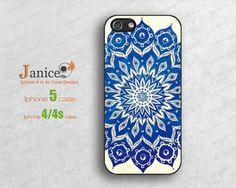 popular  mandala iphone 4 case,iphone 4/4s cases,iphone 5 cases,iphone cases for 4/4s 5, Plastic or rubber silicon case b0177