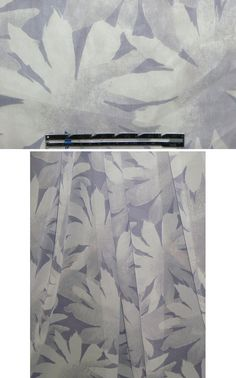 From a well-known designer, this is a wonderful silk chiffon with a sophisticated yet modern stylized daisy design in shades of lavender-tinted gray (PANTONE 16-3911, etc). The fabric has a lovely floaty drape, and is very sheer. Perfect for scarves, blouses, tops, or line for a dress, tunic, etc. Dry cleaning recommended, but test first if you wish to wash at home. Emma One Sock
