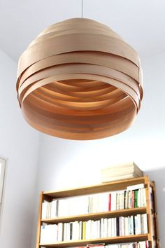 Light Cloud Veneer Lampshade by Vayehi on Etsy