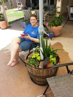Planter Umbrella Stand: 5 Steps (with Pictures) - Patio Umbrellas - Ideas of Patio Umbrellas