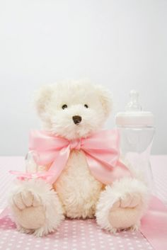 teddy bear centerpieces for baby shower   Baby Shower Table Centerpieces