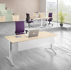 Open plan office furniture from Weaver & Bomfords UK