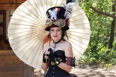 """Those good ol' steampunk times. Our steampunk pic of the day is """"Steampunk Lady"""", by Scott Hughes. Steampunk Movies, Steampunk Store, Steampunk Rings, Steampunk Corset, Steampunk Design, Steampunk Costume, Steampunk Clothing, Steampunk Fashion, Victorian Fashion"""