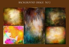 5 Digital Art Background  No2Instant Download texture