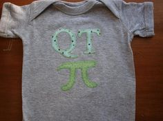 Found this etsy seller and fell in love with her stuff!  SUCH cute baby onesies!
