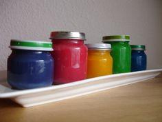 Koken met peuters 8: Eetbare vingerverf/ edible paint