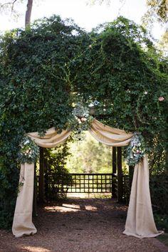 Barnsley Gardens Wedding by Elle Golden Photography Read more – www. Wedding Bells, Fall Wedding, Wedding Events, Wedding Ceremony, Wedding Flowers, Dream Wedding, Wedding Entrance, Wedding Hymns, Wedding Gazebo