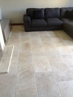 The Light Tumbled Travertine in the 610x406 format.