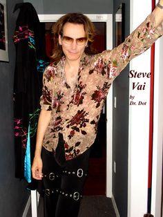 Steve Vai Xmas Songs, Steve Vai, Heavy Metal, Floral Tops, Guitars, Rockers, Musicians, Bands, Women