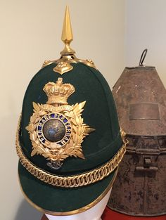 Royal Marines Light Infantry home service helmet  1878-1901