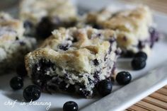 Buttermilk Blueberry Breakfast Cake!  This is seriously SO good!