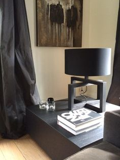 Styles by eve. Lamp by layer by adje Layer loft round/ Black Layer by eve living