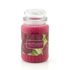 Gold Canyon Pomegranate Candles...my ultimate fave!
