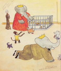 aww babar! used to love this. Might be what started my love for elephants