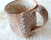 The most awesome pottery you will see!  Details!!  Unique!  www.windfallarts.etsy.com