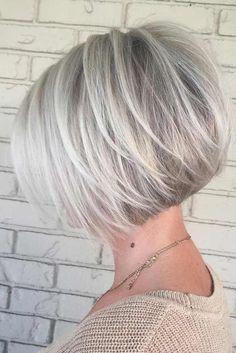 Nouvelle Tendance Coiffures Pour Femme  2017 / 2018   Les coupes de cheveux de Bob sont l'un des modèles les plus populaires ces jours-ci et il