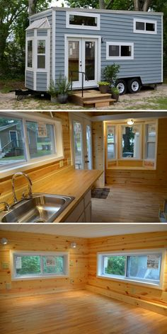 A cute 240 sq ft tiny house, available for sale in Opp, Alabama