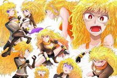 Fairytale Characters, Rwby Yang, Rwby Bumblebee, Rwby Volume, Rwby Anime, Team Rwby, Rooster Teeth, Anime Stuff, Art Images