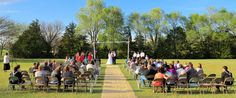 The beautiful setting for a beautiful wedding!